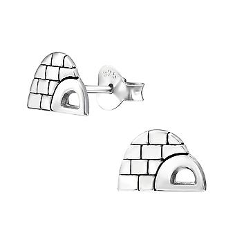 Iglo - 925 Sterling Zilver Plain Ear Studs - W33607x