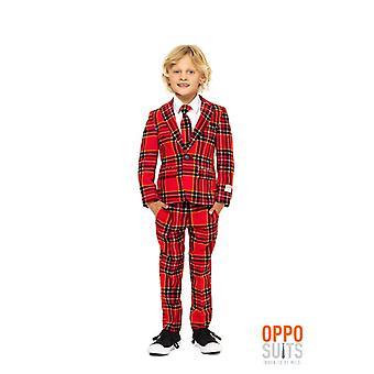 Lumberjack Christmas suit children suit suit Opposuit slimline Premium 3-piece set