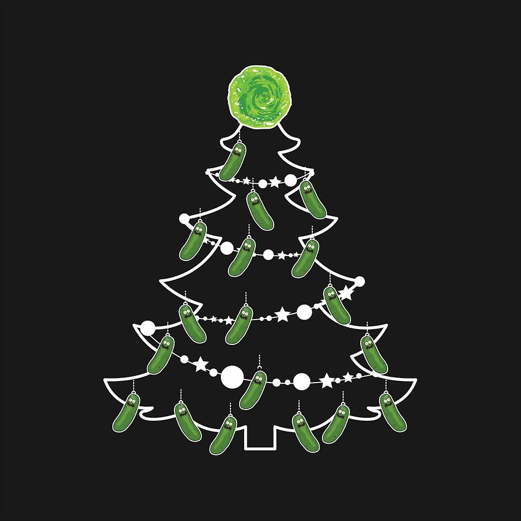 Pickle Rick And Morty Christmas Tree Baubles Kid S T Shirt Fruugo