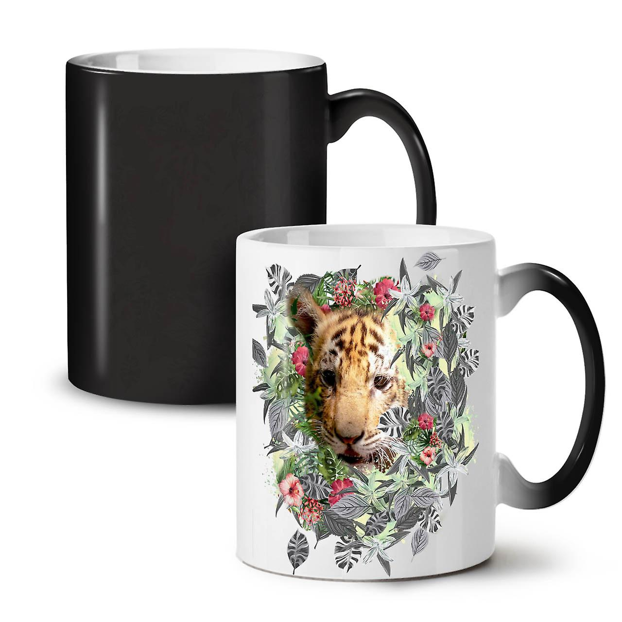 Céramique Animal Changeant Nature Coloris Tigre 11 Nouveau OzWellcoda Thé Tasse Noir Mignon Café hQoCdBtrsx