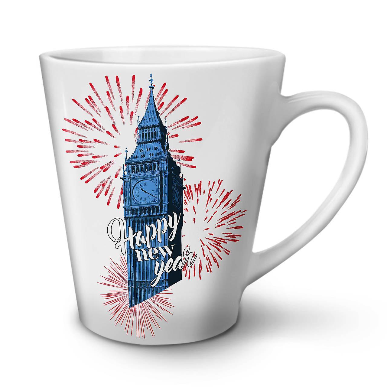 Mug OzWellcoda Ceramic Tea Uk Coffee New 12 Latte Tower White fygYb76