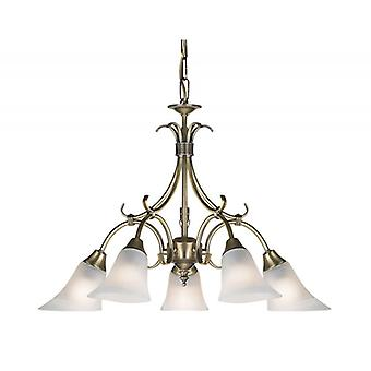 Hardwick Indoor Ceiling Pendant - Endon 144-5an