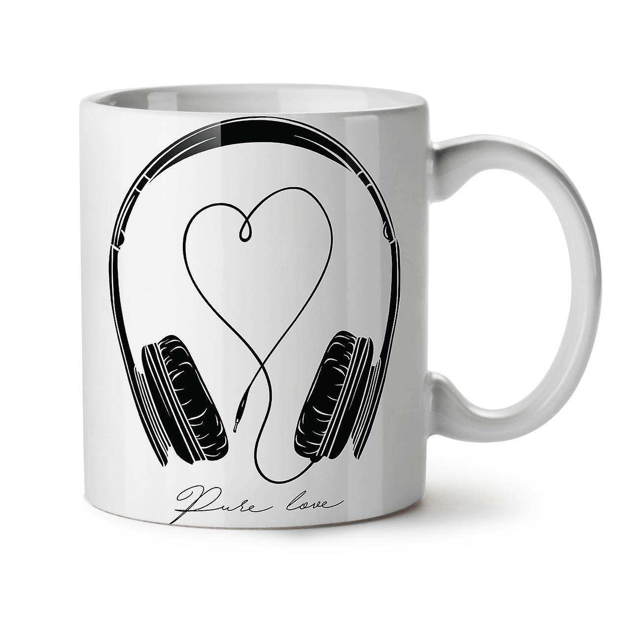 Thé Blanc Céramique 11 Nouvelle Café OzWellcoda Pour La L'amour Musique Tasse Rj345ALq