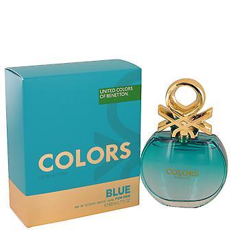 Benetton Colors de Benetton Blue Eau de Toilette 80ml EDT Spray