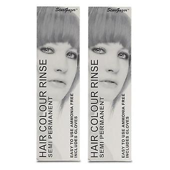 Stargazer Semi-Permanent Hair Colour Dye SILVERLOOK (2-Pack)