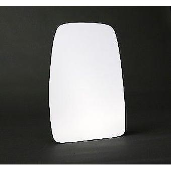 Left Stick-On mirror glass for Nissan INTERSTAR Bus 2002-2011