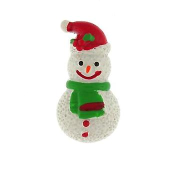 Brooches Store Christmas Enamel Resin Snowman Children's Badge Pin Brooch