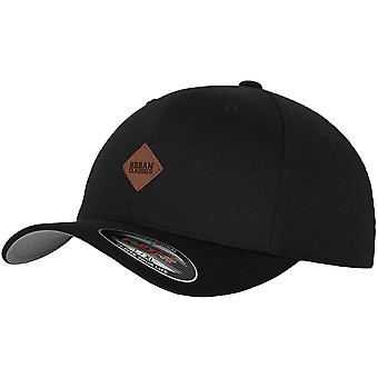 Urban klassikere PATCH Flexfit Cap - sort