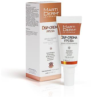 Martiderm DSP Cream FPS 50 + 40 ml (Cosmetics , Facial , Creams with treatment)