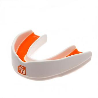 Shock Doctor Ultra Rugby Mouthguard Youths White / Orange