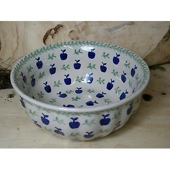 Ondas del borde Bowl, opción 2, Ø 18 cm, altura 7 cm, tradición 50 - BSN 60451