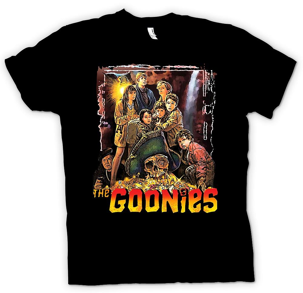Womens T-shirt - The Goonies Treasure - Movie
