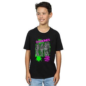 Ramones-Boys Posterized Gabba Gabba Hey T-Shirt