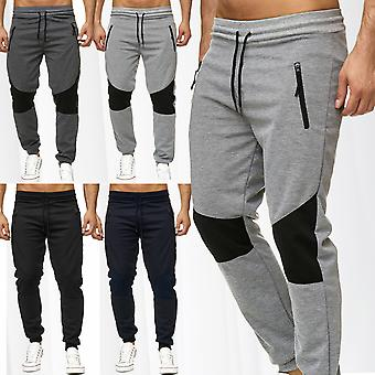 Men's sweatpants sweatpants sports pants fitness jogging pants biker sweat pants