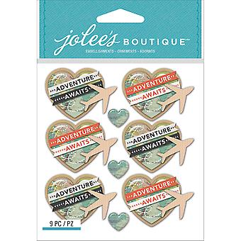 Jolee's Boutique Dimensional Stickers-Airplanes