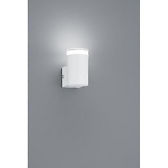 Trio belysning Aracati moderne hvide Matt Metal væglampe