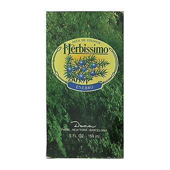 Dana Herbissimo Enebro Agua De Colonia Splash 5.0Oz/150ml In Box