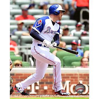 Freddie Freeman 2018 Action Photo Print