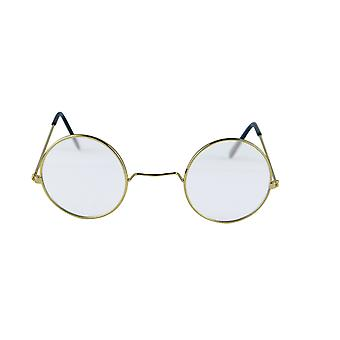 Henbrandt Old Lady Granny Round Clear Lenses Glasses Fancy Dress Accessory