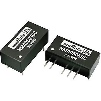 Murata Power Solutions NMA1209DC DC/DC converter (print) 12 Vdc 9 Vdc, -9 Vdc 55 mA 1 W No. of outputs: 2 x