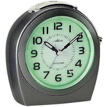Sveglia al quarzo strisciante secondo semaforo dopo la funzione wake-up