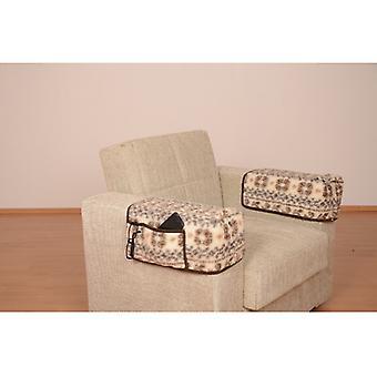Armrest saver seat saver MALMÖ some 40 x 55 cm 2 pockets