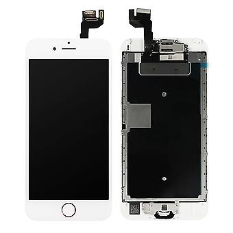White LCD Screen With Rose Home Button For iPhone 6S