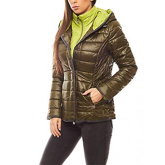 B.C.. best ladies warming connections Quilted Jacket olive