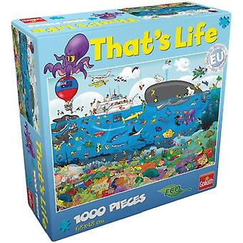 Goliath Puzzel That's life Barrier1000pc