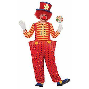 Bnov Kids Hoop Clown Costume