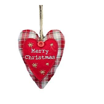 Gisela Graham Tartan Christmas Decoration