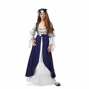 Edeldame Mittelalter Malena Damen Kostüm Mittelalterkleid Prinzessin Damenkostüm