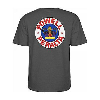 Powell Peralta Charcoal Heather Supreme T-Shirt
