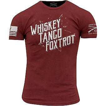 Grunt Style WTF II Crewneck T-Shirt - Red