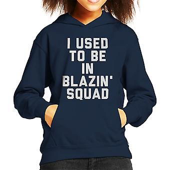 I Used To Be In Blazin Squad Love Island Kid's Hooded Sweatshirt