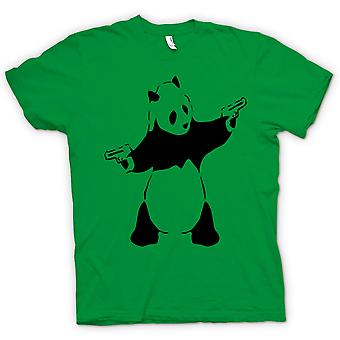 Kids T-shirt - Kids Hoodie - Banksy - Graffiti Wall Art - Panda Pistol