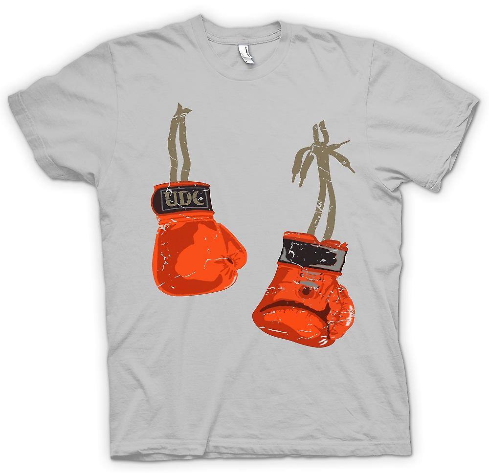 Mens T-shirt-accrocher les gants de boxe - Cool