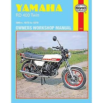 Verkstadshandbok Yamaha RD400 Twin 1975-79 ägarens av Mansur Darlingto
