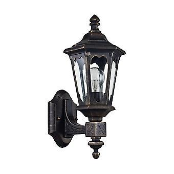 Maytoni Lighting Oxford Outdoor Wall Mounted Coach Lantern, Bronze