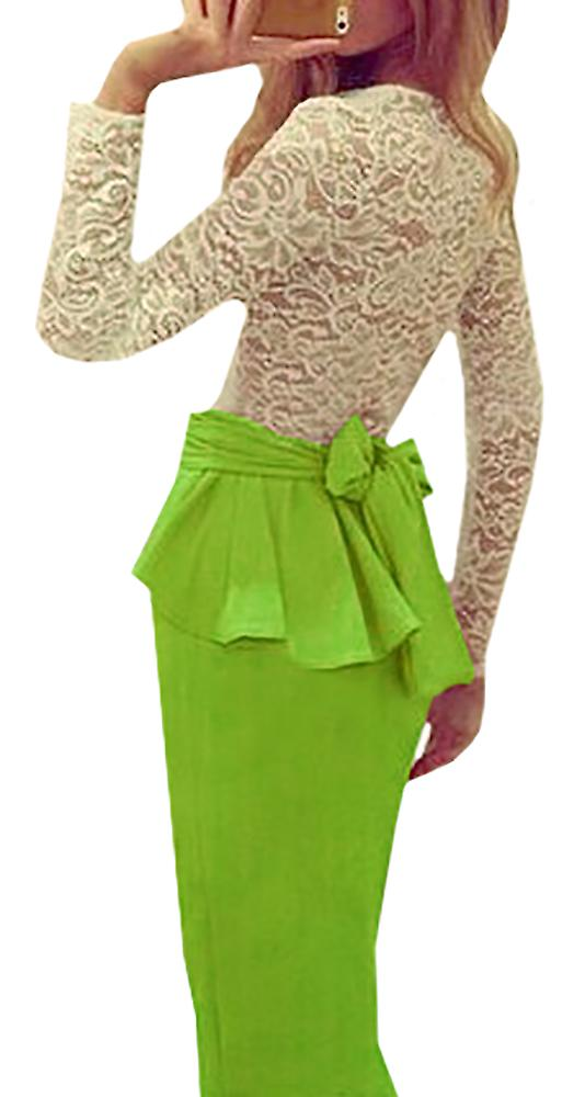 Waooh - Set lace top and long skirt Do
