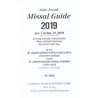 Saint Joseph missalet Guide 2019: 1 januari till 31 december 2019