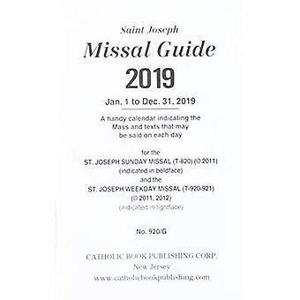 Saint Joseph Missal Guide 2019: Jan. 1 to Dec. 31, 2019