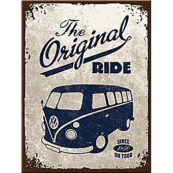 VW Camper Original Ride fridge magnet  (na)