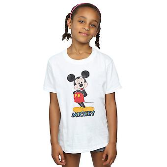 Disney Girls Mickey Mouse Retro Pose T-Shirt