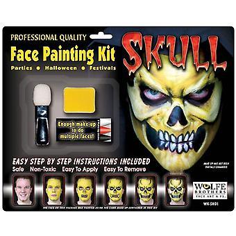 Skull Makeup Kit Wolfe Bros