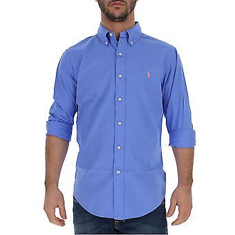 Ralph Lauren Licht blaue Baumwoll-Shirt