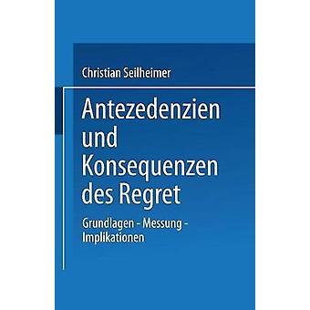 Antezedenzien und Konsequenzen des beklagar grundlag Messung Implikationen av Seilheimer & Christian