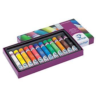 فإن جوخ النفط الباستيل مجموعة من الألوان 12
