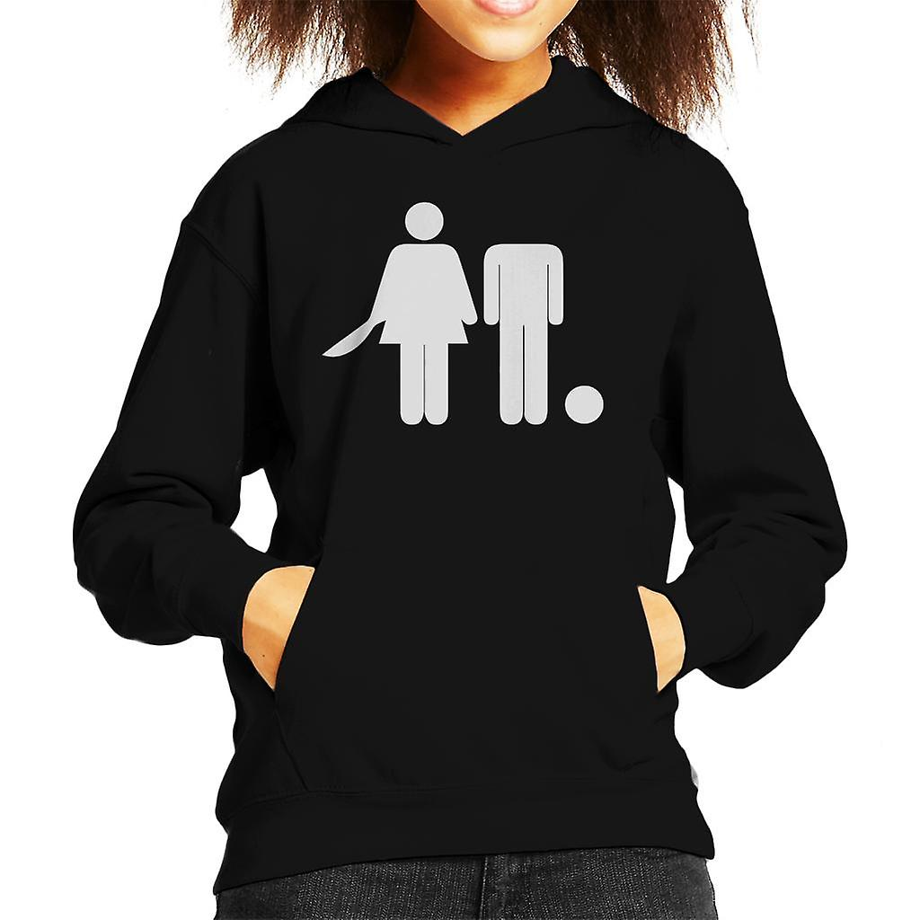 Anti mannen Hooded onthoofde Man Kid's Sweatshirt