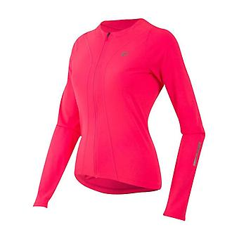 Pearl Izumi Screaming Pink Select Pursuit Womens Long Sleeved Cycling Jersey